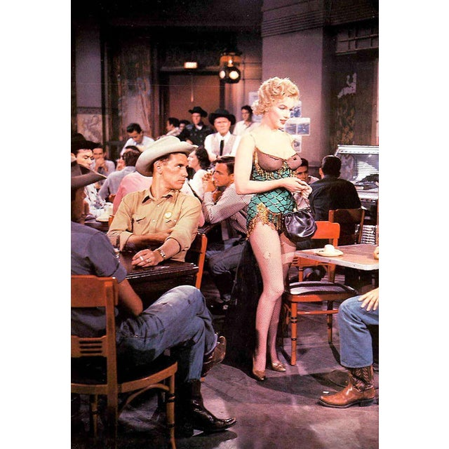 "Chair Used by Marilyn Monroe in the 1952 ""Bus Stop"" Movie - Image 5 of 5"