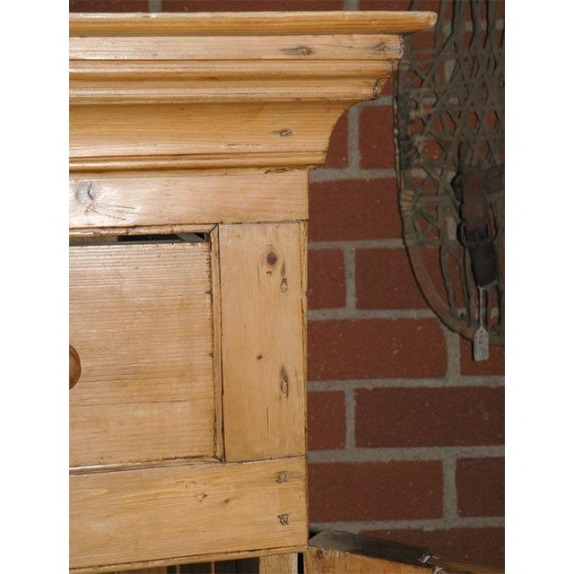 Two Door Pine Cabinet For Sale - Image 9 of 9