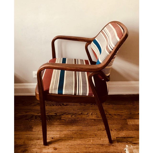 Blue 1970s Knoll Mid-Century Modern Chairs - Set of 4 For Sale - Image 8 of 10