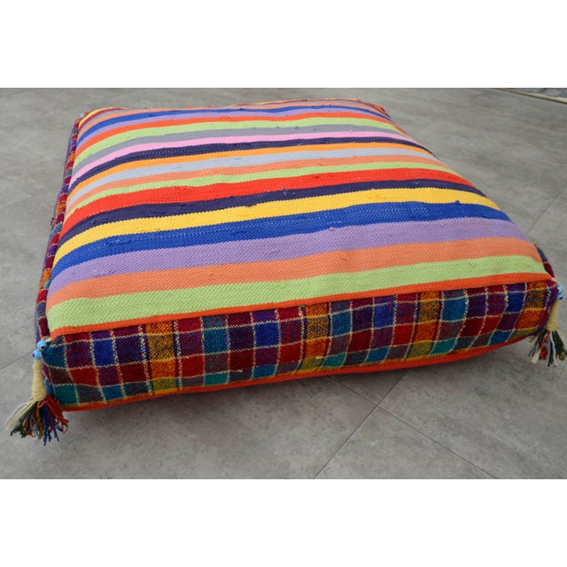 Floor Pillow Insert 30 X 30 : Turkish Hand Woven Kilim Floor Cushion Cover 30? X 30? Chairish