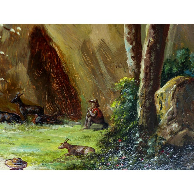 Landscape Oil Painting on Board - Image 9 of 10