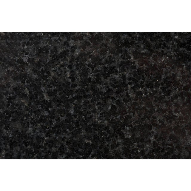 Black Eero Saarinen Black Granite Tulip Table For Sale - Image 8 of 9