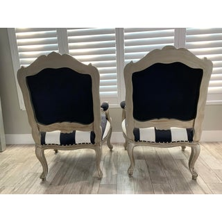Early 20th Century Reupholstered Carved Armchairs- A Pair Preview