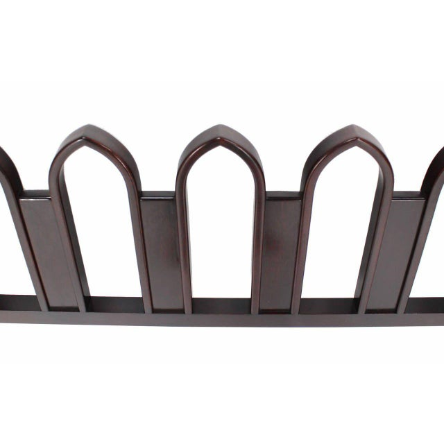 Mid 20th Century Harvey Probber Mahogany Cultured King-Size Headboard For Sale - Image 5 of 9