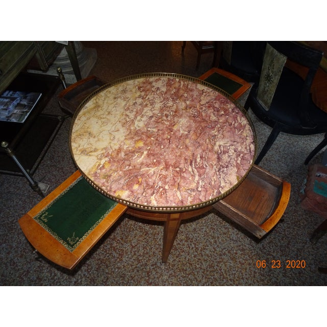 19th Century French Bouillotte Table For Sale - Image 9 of 13
