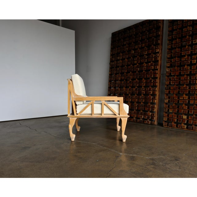 """John Hutton """"Thebes"""" Chair for Randolph & Hein Circa 1976 For Sale - Image 12 of 12"""