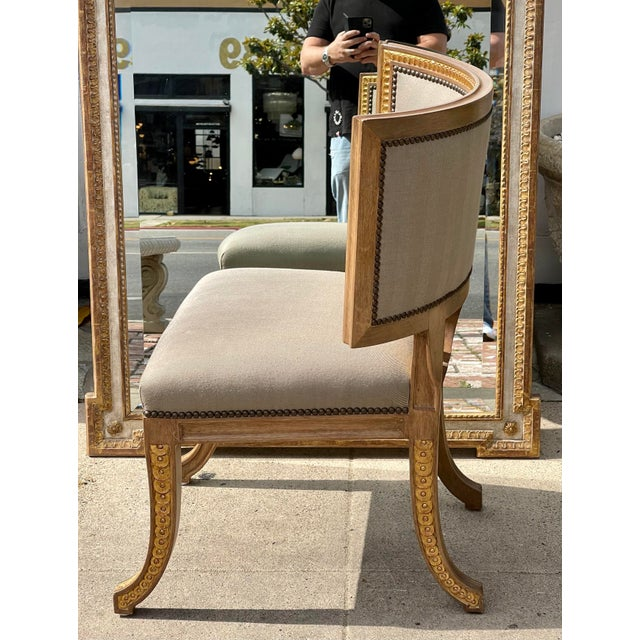 Quatrain by Dessin Fournir Swedish Neoclassical Style Side Chair For Sale In Los Angeles - Image 6 of 7