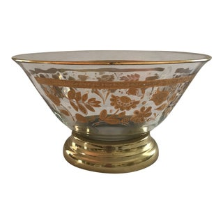 George Briard Persian Gardens Footed Bowl For Sale