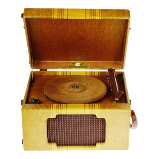 Vintage Andrea Gram 78 RPM Record Player