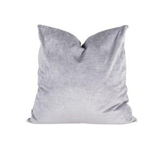 22 X 22 Lavender Lilac Velvet Pillow For Sale