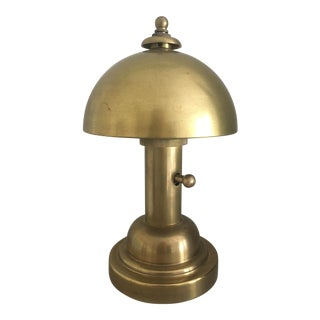 "Thomas O'Brien Brass ""Totie"" Task Lamp For Sale"