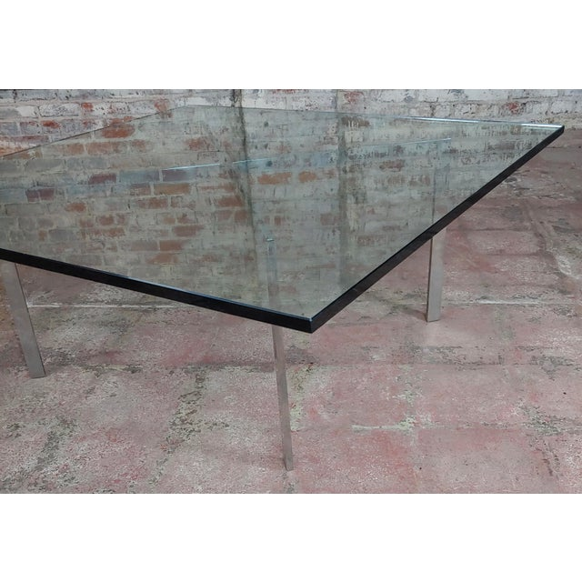 High End Knoll Studio Barcelona Coffee Table Mies Van Der Rohe Decaso