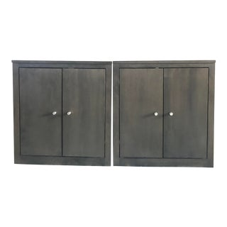 Room & Board Woodwind Custom Cabinets/Bookcases - a Pair For Sale