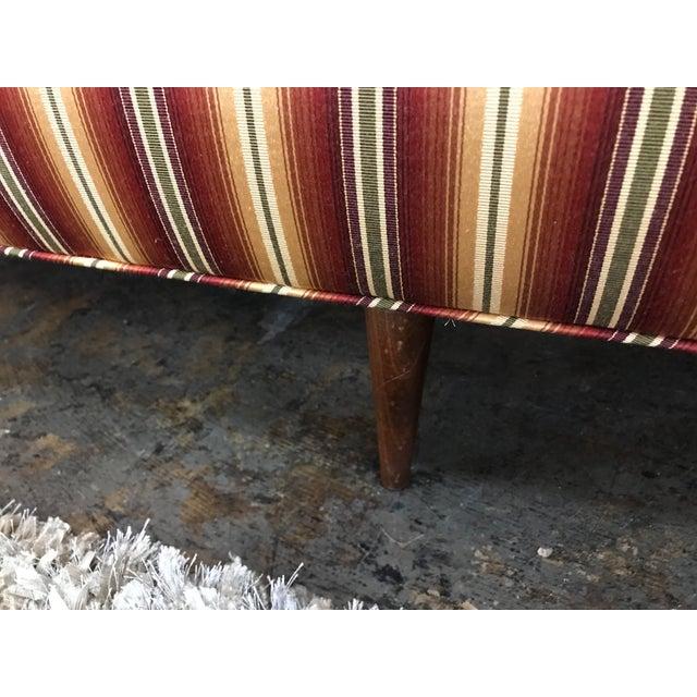 Mid Century Sofa Style of Milo Baughman For Sale In San Antonio - Image 6 of 8