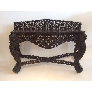 19th Century Raj Anglo Indian Console Preview