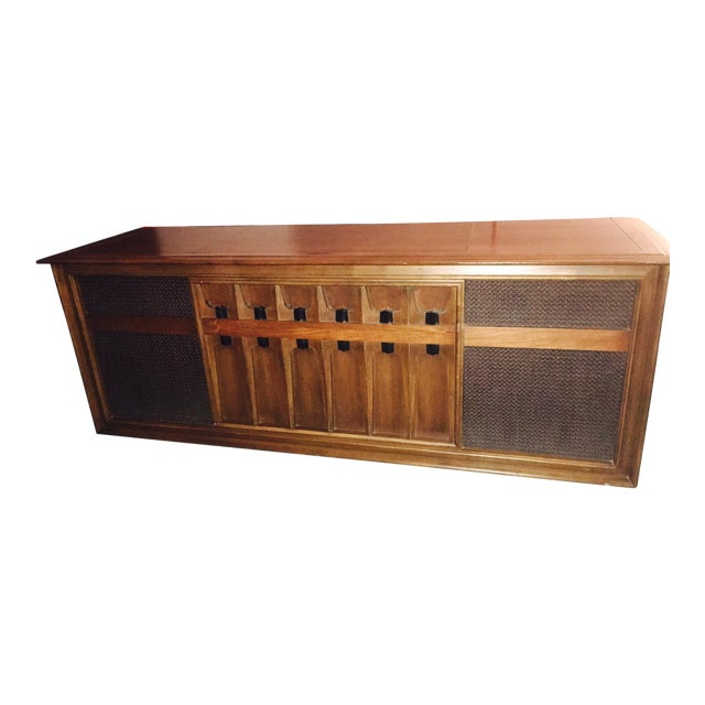 Mid Century Modern Victrola Rca Victor Stereo Console For Sale