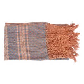 Oaxacan Ocher Throw For Sale