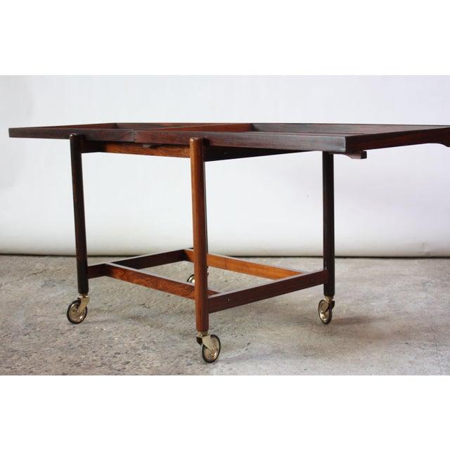 Poul Hundevad Rosewood Modular Bar Cart - Image 2 of 13