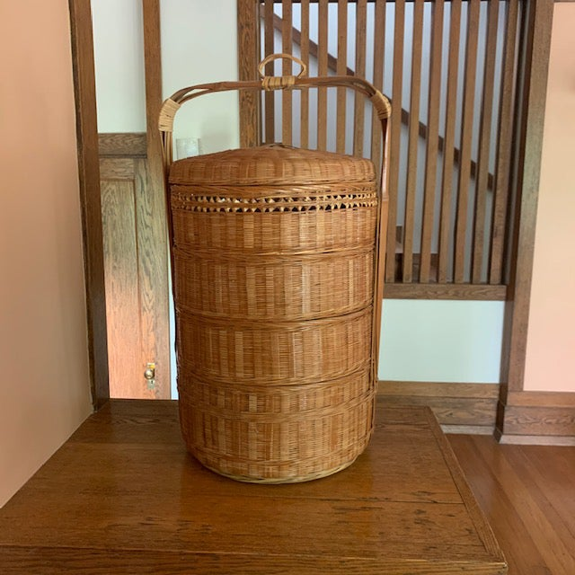 Vintage Japanese Wedding Basket For Sale In Lexington, KY - Image 6 of 6