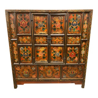 Early 20th Century Asian Hand Crafted Wedding Chest For Sale