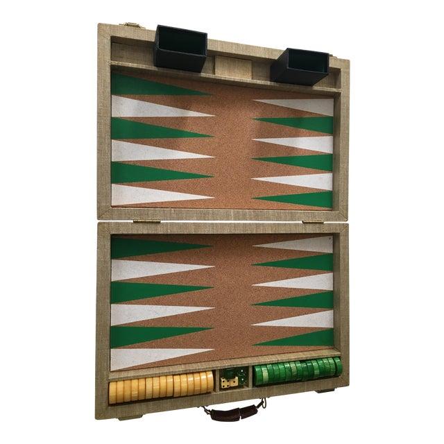 Vintage Backgammon Set - Image 1 of 8