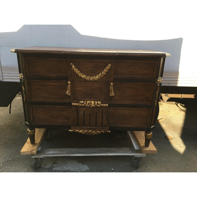 Neoclassical-Style 3-Drawer Dresser - Image 2 of 5