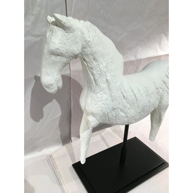 Barbara Cosgrove Tang Dynasty Horse Sculpture - Image 4 of 5