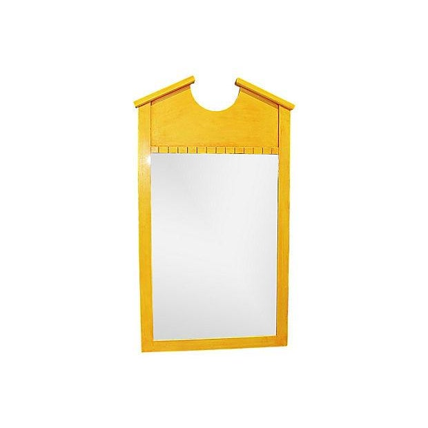 Yellow Double Bonnet Mirror - Image 1 of 4