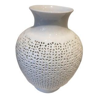 Blanc De Chine Pierced Jar