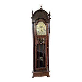 Vintage Blackforest Clock Company Grandfather Clock For Sale