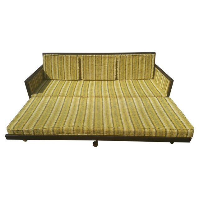 Mid-Century Modern Convertible Sleeper Sofa For Sale - Image 11 of 11