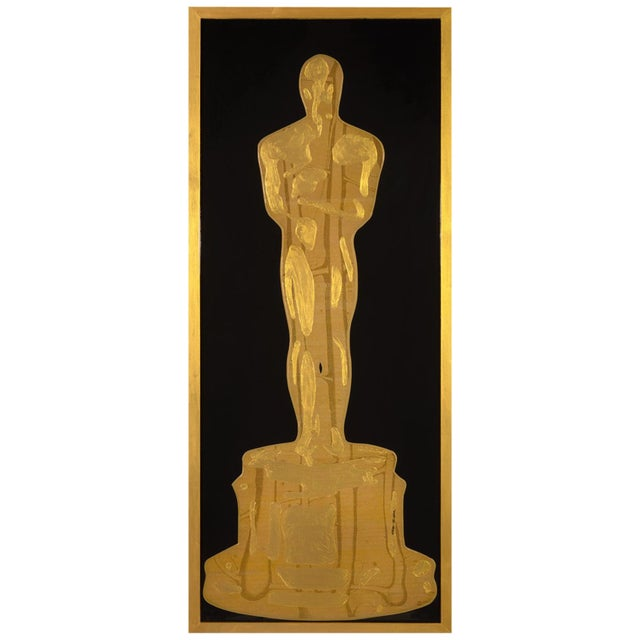 Golden Oscar by Mauro Oliveira For Sale In Palm Springs - Image 6 of 6