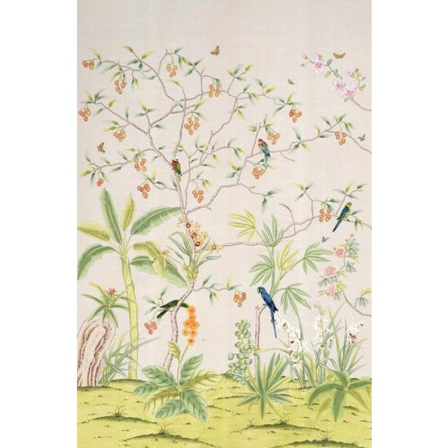 """Not Yet Made - Made To Order Casa Cosima Palisades Wallpaper Mural - 2 Panels 72"""" W X 108"""" H For Sale - Image 5 of 5"""