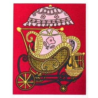 William Nelson Copley Baby Buggy Hand Signed Numbered Serigraph For Sale