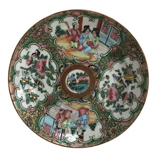Chinese Famille Rose Plate For Sale