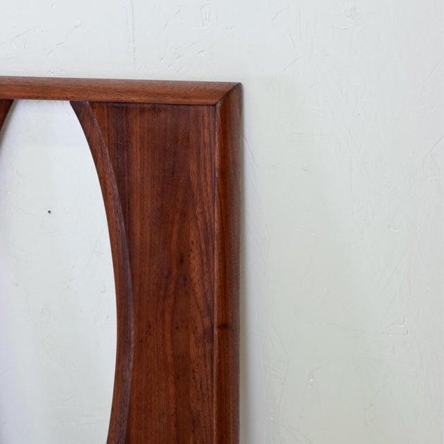 Mid-Century Modern Mid Century Modern Walnut Headboard by Prelude For Sale - Image 3 of 7