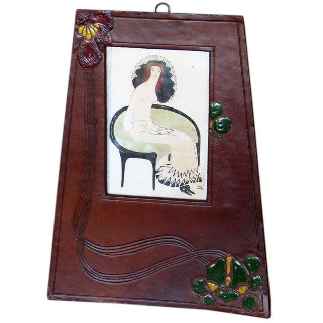 Jugendstil Jugendstil Period Picture Frame For Sale - Image 3 of 3