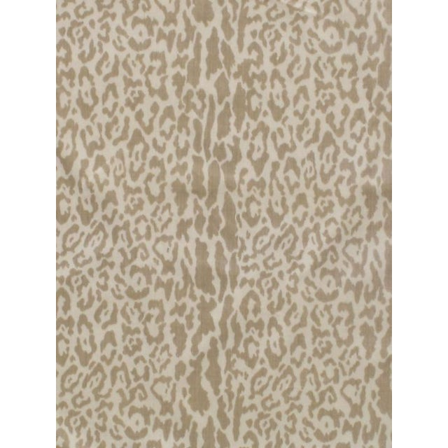Transitional Scalamandre Snow Leopard, Winter White Fabric For Sale - Image 3 of 3