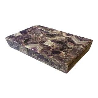 Mid 20th Century Amethyst Box For Sale