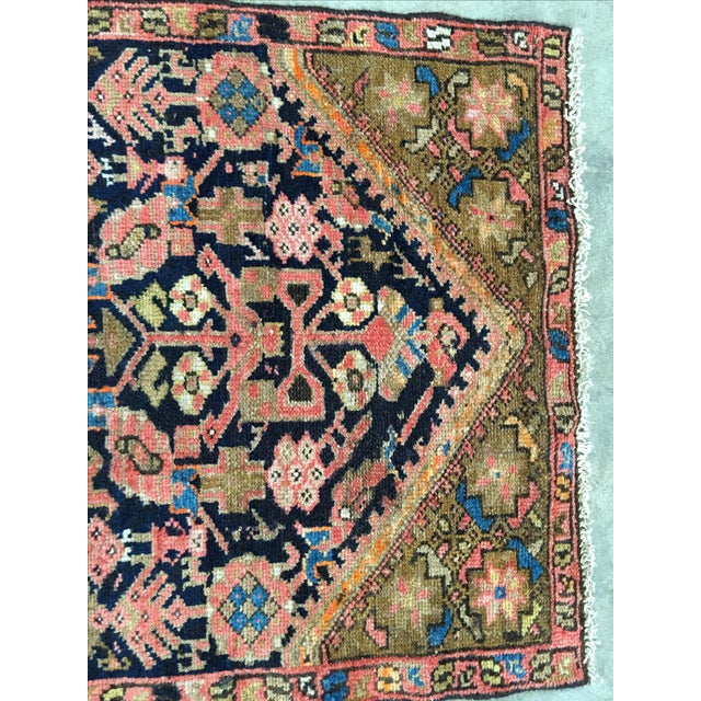 Antique Persian Malayer Runner - 2′5″ × 10′11″ - Image 7 of 8