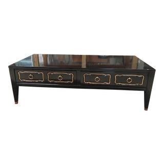 1950s Regency Dorothy Draper Low Coffee Table For Sale