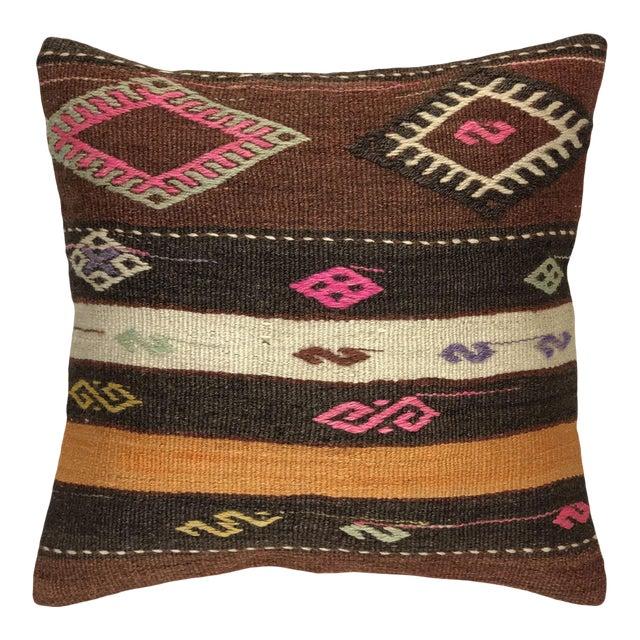 "Southwest Stripe Kilim Pillow | 20"" For Sale"
