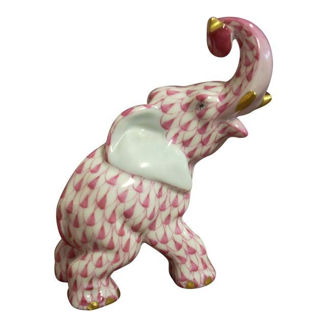 Herend Elephant Figurine For Sale
