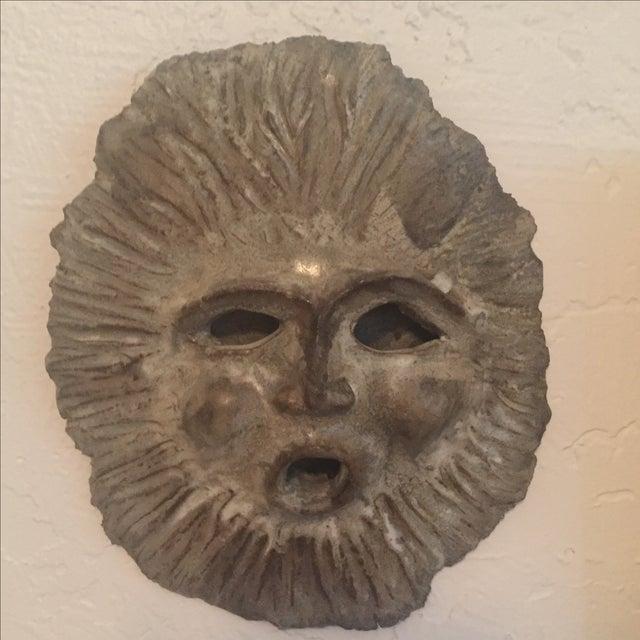 1970 Signed Vintage Studio Pottery Face Sculpture - Image 2 of 8