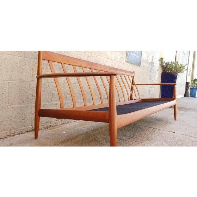 Danish Modern Teak Danish Modern Sofa by Grete Jalk For Sale - Image 3 of 12