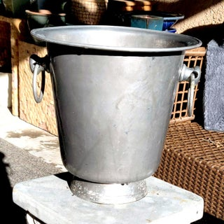 Aluminum Alloy Loop Handled Champagne Pedestal Bucket Preview