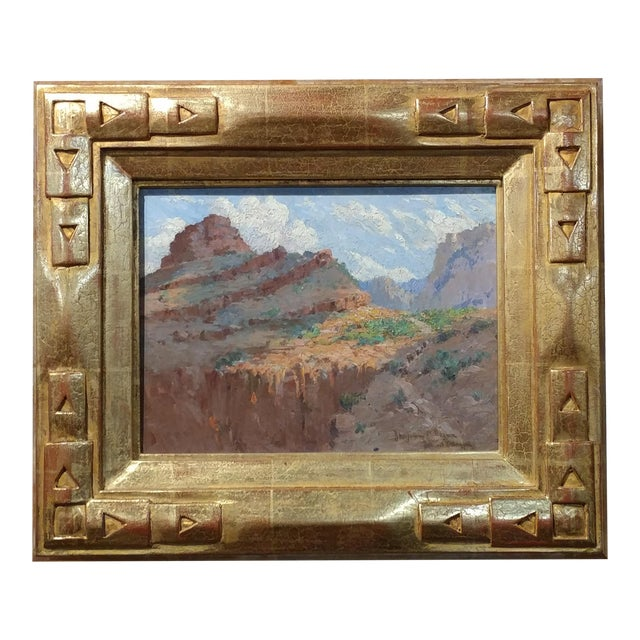 Benjamin Brown Grand Canyon Beautiful Impressionist Oil Painting