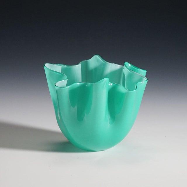 Mid-Century Modern Fulvio Bianconi Vase 'Fazzoletto' for Venini Ca. 1960 For Sale - Image 3 of 9