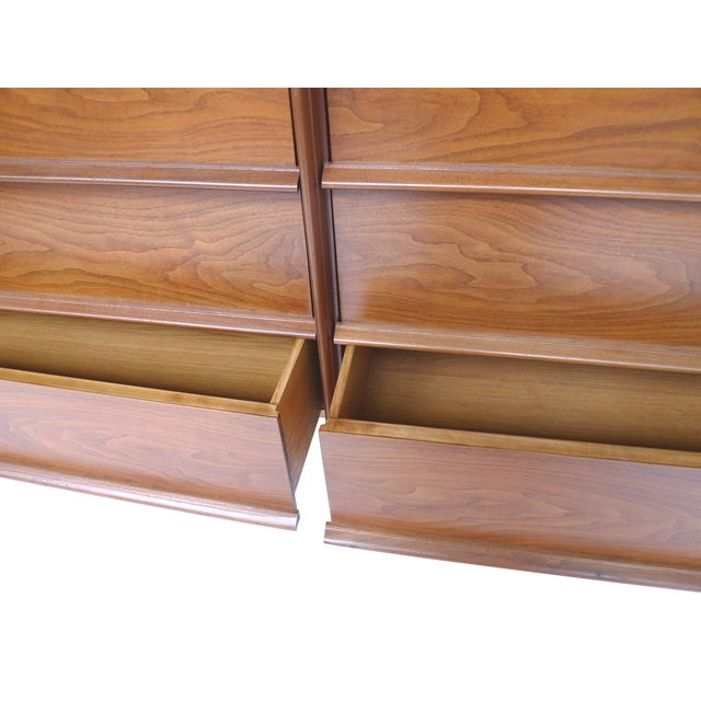 1950s T.H. Robsjohn-Gibbings Mahogany Dresser - Image 9 of 10
