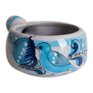 Mexican Bird Bowl For Sale